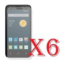 6 PZ PELLICOLA PROTEZIONE PER Alcatel Pixi 3 (4.5 Pollici) PROTEGGI SCHERMO LCD