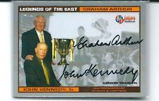 KENNEDY & ARTHUR DUAL SIGNED 61 PREMIERS CARD 100 ISSUE ONLY