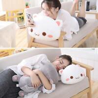 Kawaii Lying Cat Plush Toy Stuffed Cat Doll Lovely Animal Pillow Kid Christmas