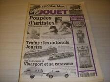 LVJ La VIE du JOUET 20 06.1997 TRAINS AUTORAILS JOUSTRA AUTO MATCHBOX VIVASPORT