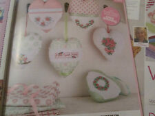 'Heart On A String' Jane Henderson Cross Stitch Chart (only)
