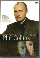 Phil Collins DVD All Live Brand New Sealed Rare