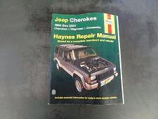 Haynes Jeep Cherokee 1984 thru 2001 Repair Manual