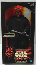 "DARTH MAUL Action Figure Ep 1 STAR WARS Hasbro 1998 1/6th 12""  NIP"
