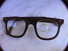 Sale! Harris black magnifying eye glasses with bifocals and loupe made in USA