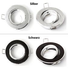 Ledox Vidrio Lista Einbaustrahler aus Echtglas schwarz eckig Einbaurahmen Lampe