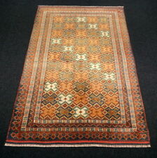 Orient Teppich Afghan 172 x 115 cm Seidenteppich Seide Torkman Turkman Silk Rug