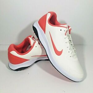 Nike Infinity G FITSOLE Men's Golf Shoes Sail/Magic Ember NWOB Multiple Sizes