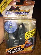 NEW Beyblade BeyWarriors BeyRaiderz Rev-Back Launcher Launching System