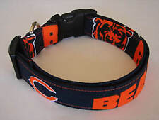 Charming Chicago Bears  NFL Football Dog Collar