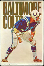 1970 Fleer Big Signs Football Complete Set (26) Including Colts & Cowboys 148062