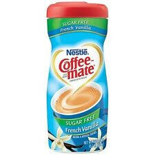 Nestle Sugar Free Coffee Mate Powder - French Vanilla, Low Carb, Low Fat