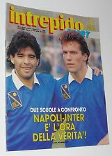 MARADONA SU INTREPIDO SPORT DEL 1989 n 3+ pink floid