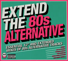 """Extend The 80s Alternative-Essential 12"""" And Extended Mixes Of 80s -3 CD SET"""