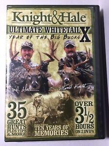ULTIMATE WHITETAIL X Year of the Big Bucks, David Knight & Harold Hale 2 Discs