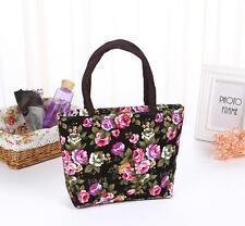 Rose Women Lunch bag Travel comestic bag Mini Handbag Purse
