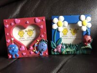 Mr Men Collectibles Naughty Perfect Tiny Small Retro  Picture Frame 4 X 4 Inches