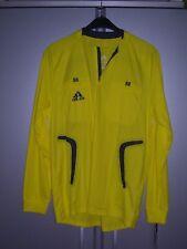 adidas Herren Schiedsrichter Trikot Referee Shirt 2 Taschen gelb Langarm L neu