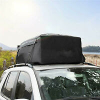 Large Cargo Luggage Carrier Bag Car Roof Top Rack Carrier Travel Dustproof