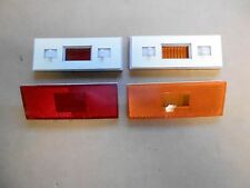 Mopar 70 Duster Road Runner GTX Side Marker Light Lenses Reflectors 1970 NEW