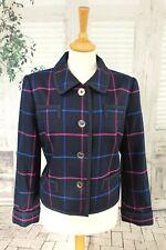 JOULES Dark navy blue Wool blend jacket size 14