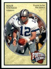 2006 UPPER DECK ROGER STAUBACH HEROES #68 DALLAS COWBOYS FOOTBALL CARD