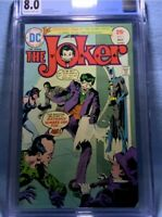 THE JOKER 1 CGC 8.0 TWO FACE CATWOMAN RIDDLER PENGUIN DC COMICS 1975