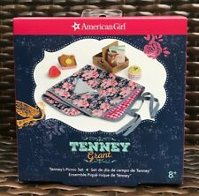 American Girl Tenney's Picnic Set NIB Blanket Melon Fried Chicken Fast Shipping