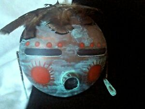 """Mexican MOON Face  type mask 8"""" round"""