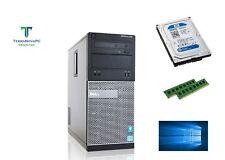 Dell Optiplex 390 MT Desktop PC Intel Core i3 8GB RAM 500GB HDD Windows 10
