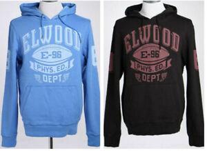 Elwood Mens State Side Pullover Fleece Hoodie Casual Hooded Sweatshirt RRP$99.99