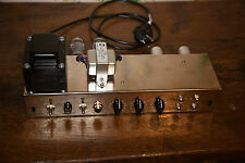 5E3 Deluxe amplifier chassis (vacuum tube guitar amplifier)