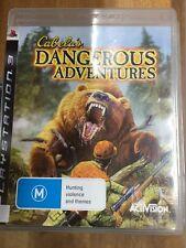 cabela's dangerous adventures PS3