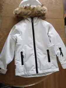 Surfanic jacket white SURFANIC SNOWBOARD SKI JACKET Size 5-6UK 116cm EU