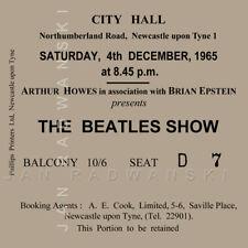 Beatles Concert Coasters December 1965 ticket High quality mdf Coaster