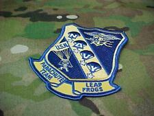 """NAVY SEAL SWCC SPECWAR """" LEAP FROGS"""" PARACHUTE TEAM AUTHENTIC PATCH"""