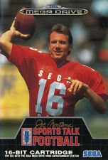 # SEGA MEGA DRIVE-Sports talk FOOTBALL 1, Joe Montana's - TOP/MD gioco #