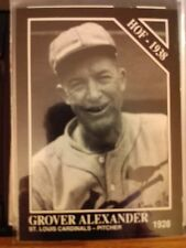 1991 The Sporting News Conlon Collection #32 Grover Alexander