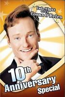 Late Night With Conan OBrien - 10th Anniversary Special 2004 DVD Disc Only C5