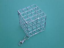 Piccolo cubo di fieno Cage Feeder con gancio Rack/GIOCATTOLO PER CINCILLA' , Cavie, octodon degus