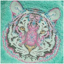Embroidered Towel -Bath sheet- Tula Pink's Tiger..