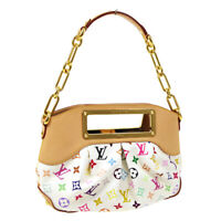 LOUIS VUITTON JUDY PM 2WAY HAND BAG TH4009 MONOGRAM MULTI-COLOR M40257 30435