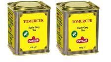 Bergamot 2 X box  125g/4.4 oz Caykur Tomurcuk Turkish Earl Grey Tea Loose in Tin