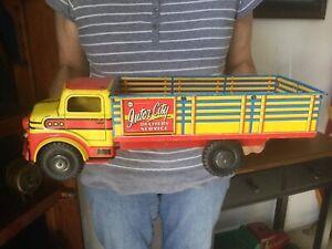 Vintage Marx Tin Litho Truck 1950's