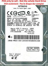PCB 0A26233 01 - Hitachi HTS721010G9SA00 - 0A26598 - MLC DA1713 - FW 2005 -100Go