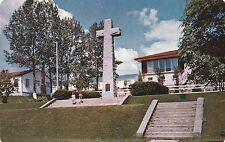 """*Canada Postcard-""""Jacques Cartier Cross"""" /Gaspe, P.Q./  (U1-886)"""