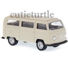 Welly 1972 Volkswagen Bus T2 1:60 Diecast Toy Car 58270D Beige