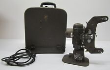 Vtg Bell & Howell Filmo Master 400 8mm 122 G Film Movie Projector In Case As Is
