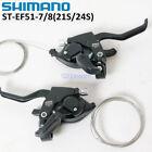 Shimano MTB Bike Gear Brake Shifter Levers Set ST-EF51-7/8 Spped 3x7/8S Black