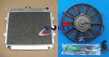 "FOR TOYOTA HILUX RN85 YN85 22R 2.4L Petrol 3-ROW Aluminum Radiator & 16"" Fan"